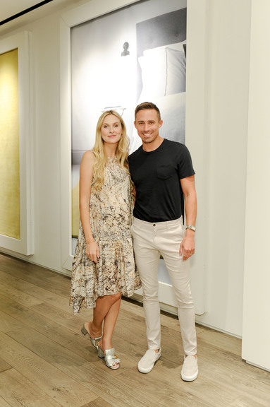 Nina Freudenberger And Ryan White At The Rug Company And Farrow U0026 Ball  Launch Dinner, Los Angeles